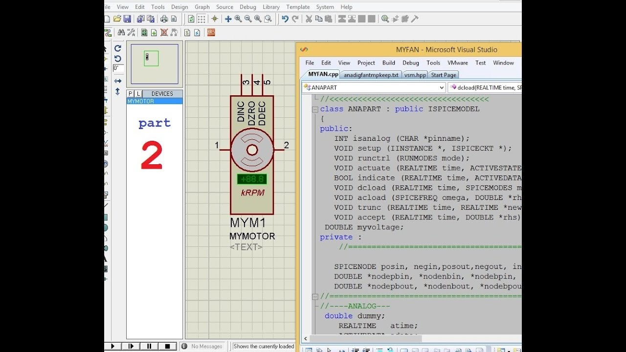 Proteus DIY create your own device and DLL file part2