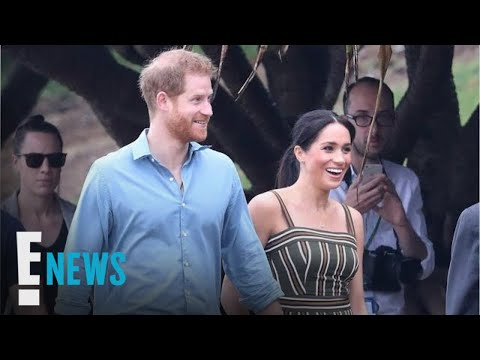 Meghan Markle Cradles Her Baby Bump in Australia | E! News
