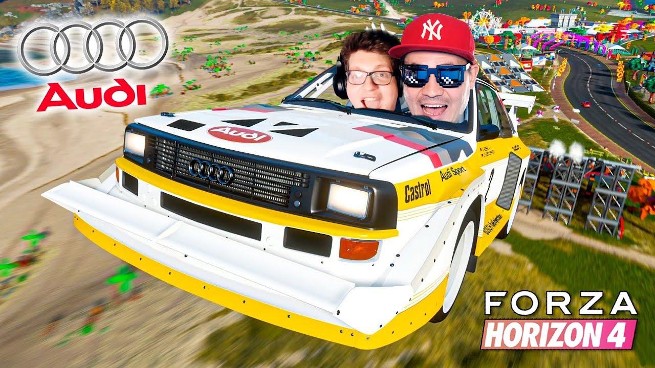 TO AUDI TO LEGENDA NIEMIECKIEJ MOTORYZACJI! 🚗 Forza Horizon 4