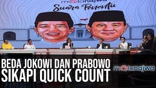 Suara Penentu: Beda Jokowi dan Prabowo Sikapi Quick Count (Part 2) | Mata Najwa