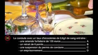 permis de conduire gratuit France 2015 HD en ligne examen 4 correction