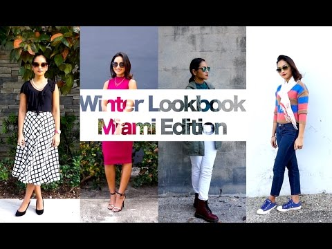 WINTER LOOKBOOK - MIAMI | Lacasavloga