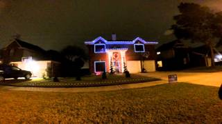 2015 Christmas Light Show Frosty the Snowman