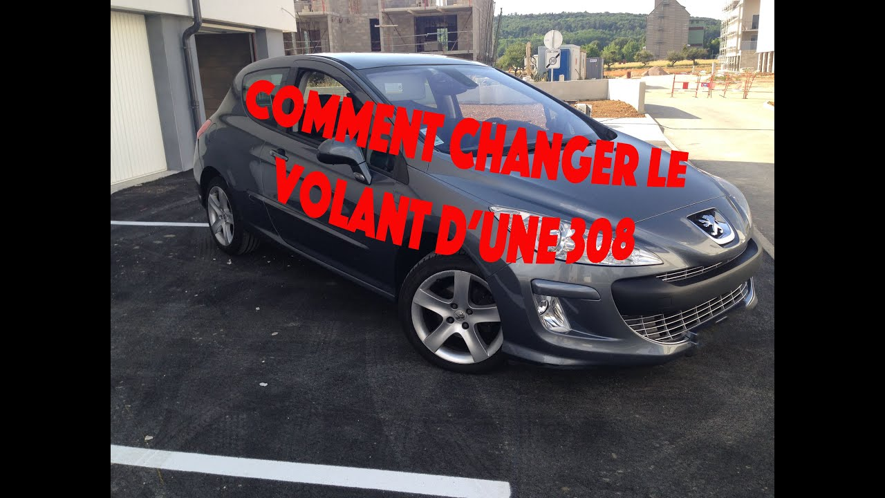 tuto comment changer un volant de peugeot youtube. Black Bedroom Furniture Sets. Home Design Ideas