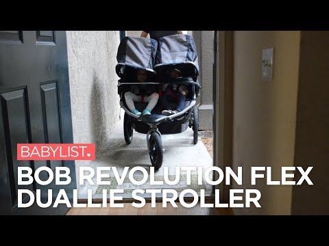 BOB Revolution FLEX Duallie Stroller Review - Babylist