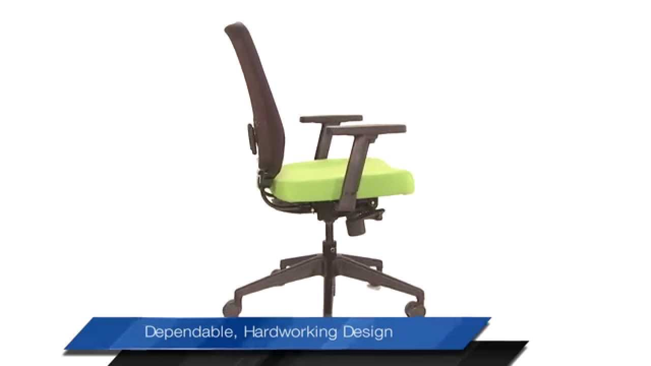 Ergonomic Chair Godrej Price Armless Dining Chairs Interio S Gallop Mesh Youtube