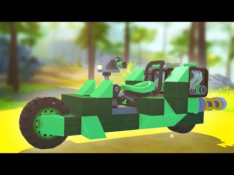 BUILD A SUPER BIKE CHALLENGE! (Scrap Mechanic)