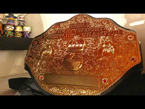 How to Clean Your WWE Replica Belt 👍🏻👍🏻