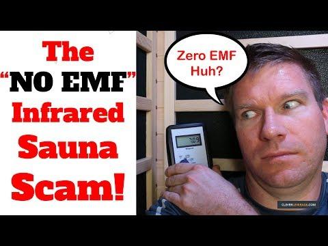 """The (ZERO EMF) Sauna Scam - How """"NO EMF"""" Infrared Sauna Companies Lie To You About Being Low EMF"""