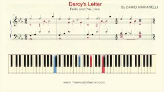 "How To Play Piano: Pride and Prejudice ""Darcy"
