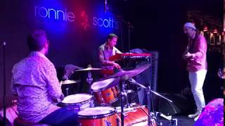 Alex Stanford at Ronnie Scotts with the SRC