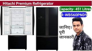 Hitachi refrigerator 451 Litres R- WB560PND GBK Hitachi Refrigerator 2020