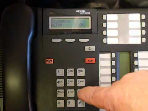Voicemail Master Reset - Norstar Business Phone System