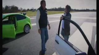 Top Gear Focus RS v Renaultsport Megane(a race between the focus RS and the renaultsport menage., 2010-01-30T22:12:22.000Z)