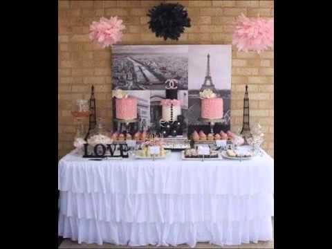 Mesa de postres para xv a os bay bebe youtube for Mesa de dulces para 15