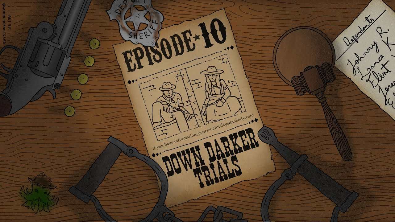 Download E10 - Down Darker Trials (Call of Cthulhu Podcast: Ain't Slayed Nobody)