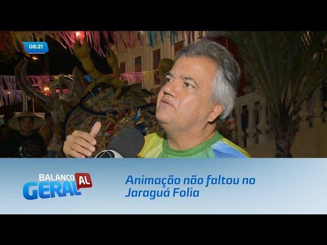Prévias: Animação não faltou no Jaraguá Folia