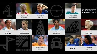 The Best FIFA Women's Player nominees revealed!