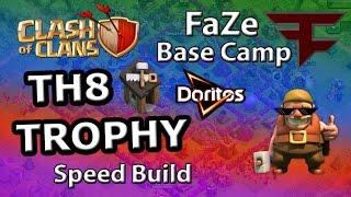 TH8 FaZe Base Camp TROPHY - Clash of Clans MLG Parody