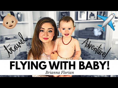 HOW TO FLY WITH A BABY! ✈️💺👶🏼 Tips & Tricks For Flying With Baby!