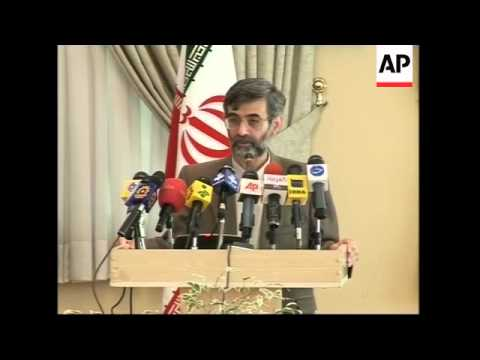 Comments on national right to act as they choose and Iran's intl influence