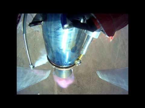 Mod Rocket Spaceport America free flight and destruction
