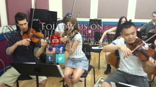 Welcome to Earth Rehearsals with Alliz Nicholas and The ROTU Strings