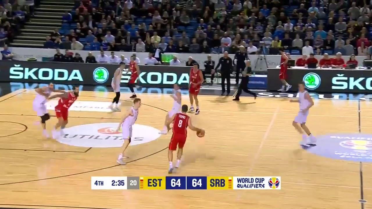 Srbija Na Ivici Ambisa Košarkaši Poraženi U Estoniji