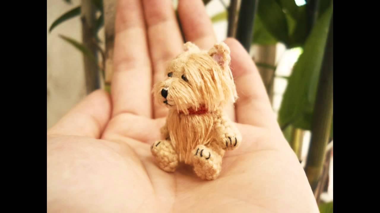 Amigurumi Animals To Make : Aphoenixd suami miniature crochet animals dollhouse amigurumi