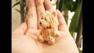 Aphoenixd - Suami Miniature Crochet Animals, Dollhouse Amigurumi Toys - 01