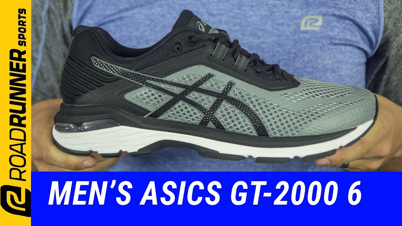 papel alguna cosa Desde allí  Men's ASICS GT-2000 6 | Fit Expert Review - YouTube