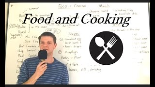Vocabulary FOOD and COOKING (Lesson 11)