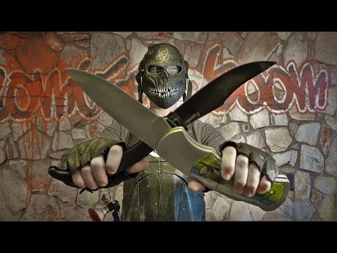 THE BIG ASS FOLDER SHOWDOWN! Zombie Go Boom! Cold Steel!