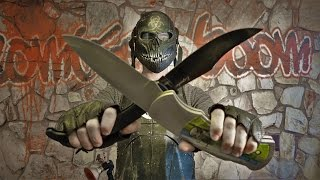 BIGGEST pocket knives in the WORLD! Zombie Go Boom! Cold Steel!