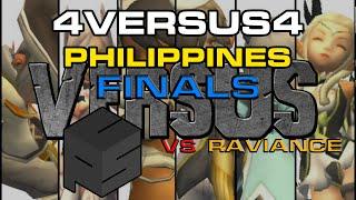 (PH) VERSUS 4v4 PVP FINALS - Raviance vs Point Click Skill- Dragon Nest