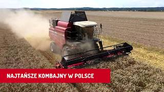 Gomselmash Palesse GS 12 A1 - najtańszy kombajn rolniczy w Polsce