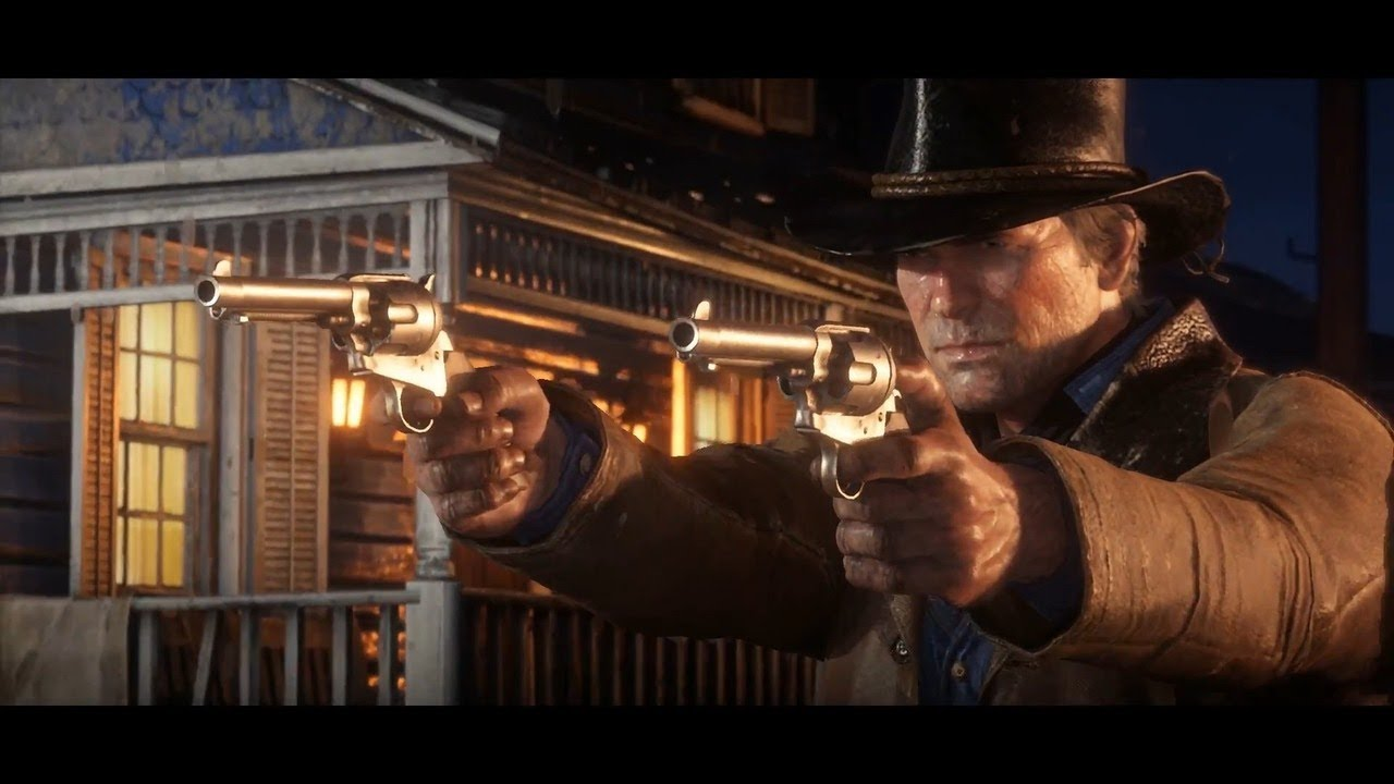 Red Dead Redemption 2 Trailer 2 Youtube