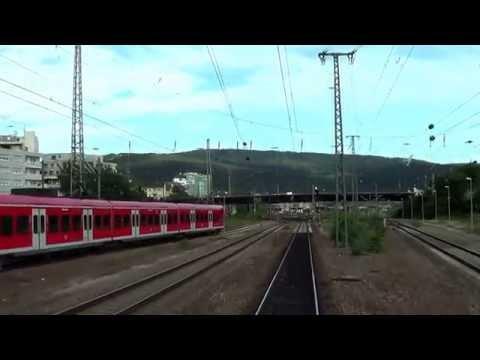 Führerstandsmitfahrt Br 425 // Mannheim - Heilbronn [HD 1080p]