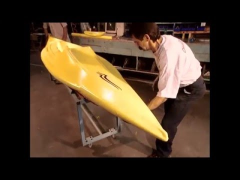 How It's Made - Plastic Molded Kayak