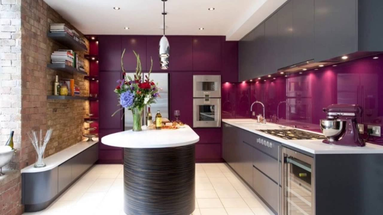 Best 10 Purple Kitchen Designs