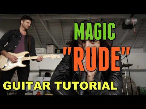 Rude - Magic! *Guitar LESSON*
