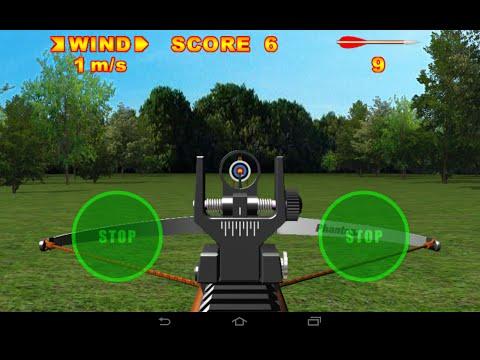 Симулятор стрельбы из арбалета. Игра на Андроид.