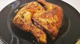 Hähnchenschenkel ganz einfach im Ofen zubereitet
