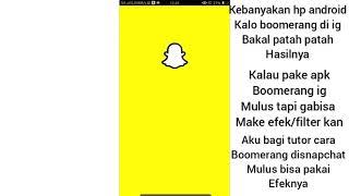 Cara membuat Boomerang SnapChat dihp android~MULUS GAK PATAH PATAH😍~ screenshot 3