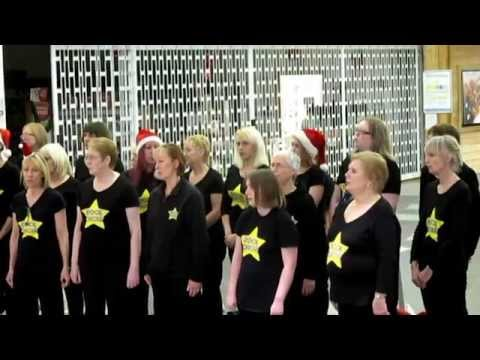 ROCK CHOIR Tesco Kings Lynn 45 mins long