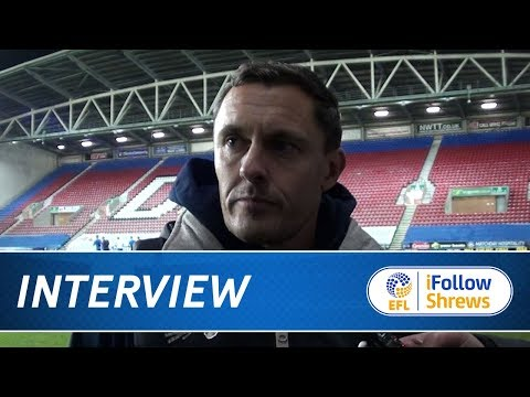 INTERVIEW - Paul Hurst post Wigan - Town TV