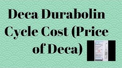 Deca Durabolin cycle cost in india.