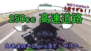 日本の道路は250ccで十分すぎる!!【高校生モトブログ】