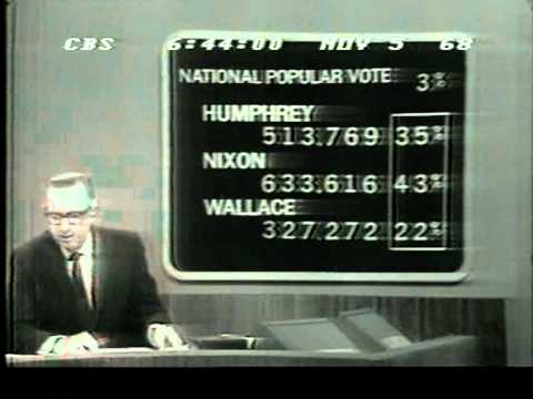 Election Night 1968 CBS News Part 1