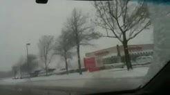 Driving in snow Arlington tx 2010